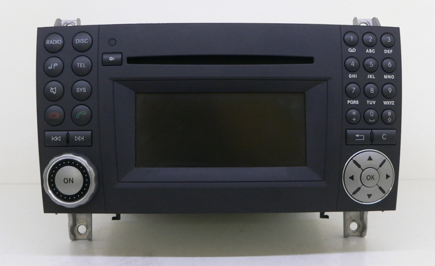 radio mercedes benz mb audio 20 ntg 2 5 changer bluetooth. Black Bedroom Furniture Sets. Home Design Ideas