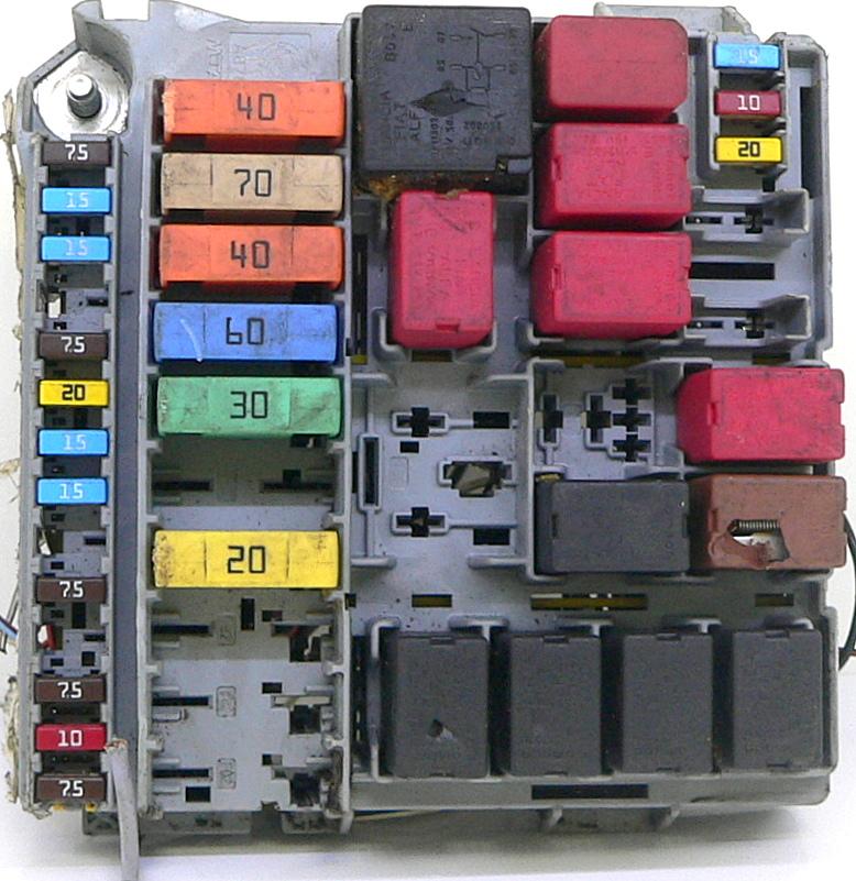 Fuse Box Fiat Punto Evo : Fiat panda moduŁ sterownik skrzynka bezpiecznikÓw