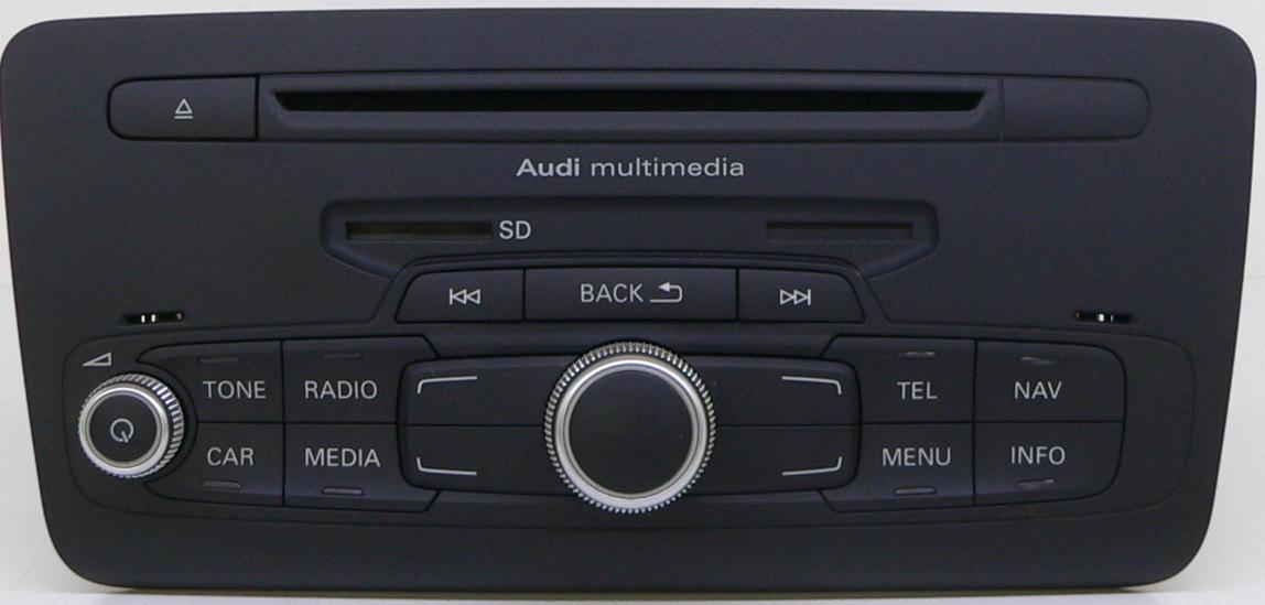 radio audi a1 multimedia mmi radio rmc au210 sd 8x0035180a. Black Bedroom Furniture Sets. Home Design Ideas