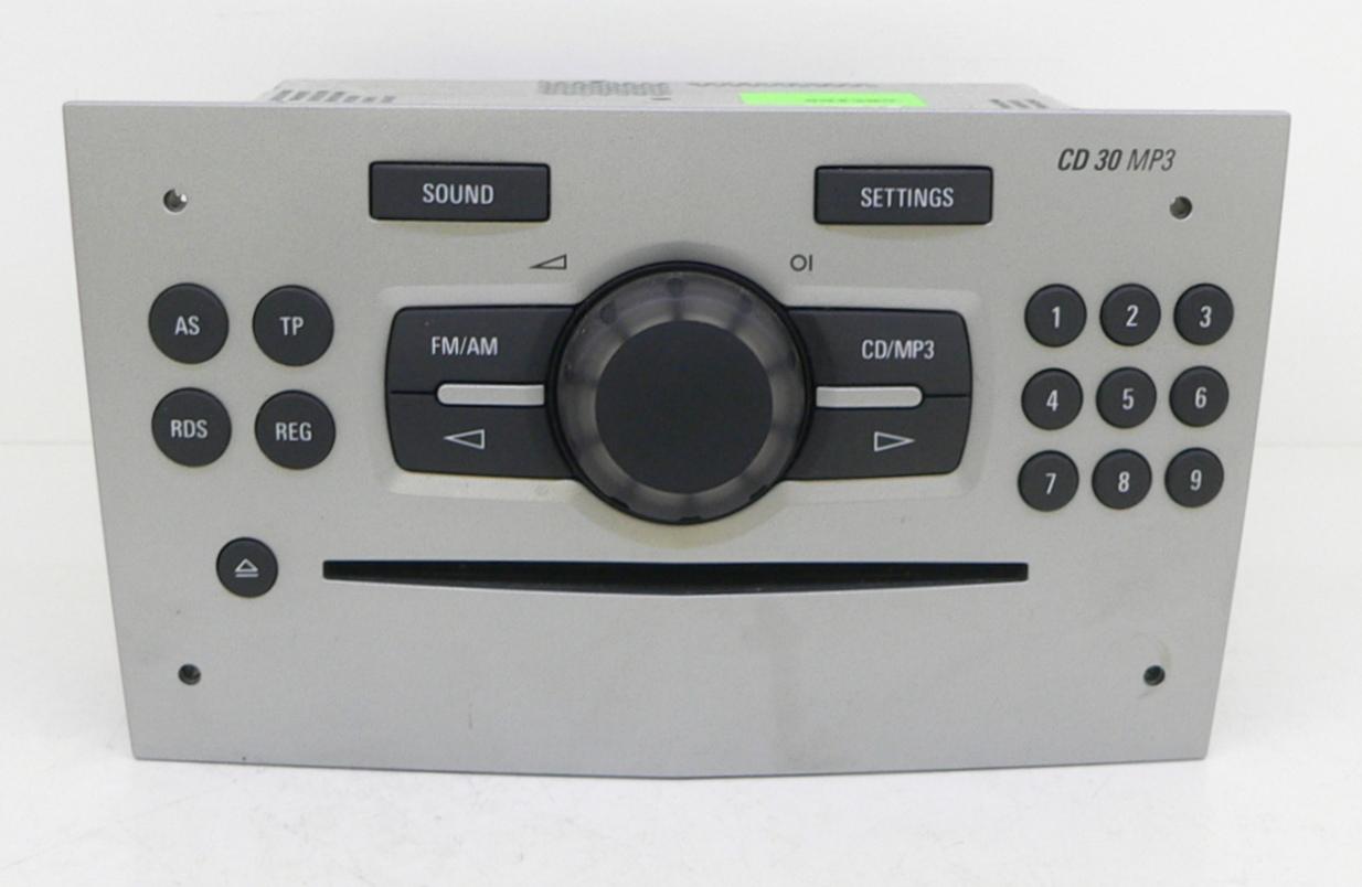 Black Radio Cd30 Opel Astra Postmetro Mp3 Wiring Diagram Gm Corsa Zafira Antara Tigra Rdo Asm Cdr1 Aux Mcr 13357127