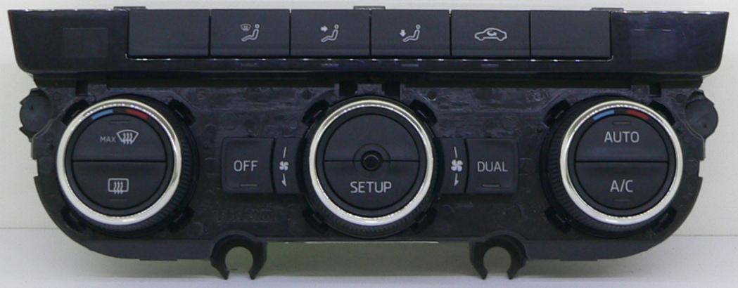 skoda octavia 5e panel climatronic klimatyzacji ac. Black Bedroom Furniture Sets. Home Design Ideas